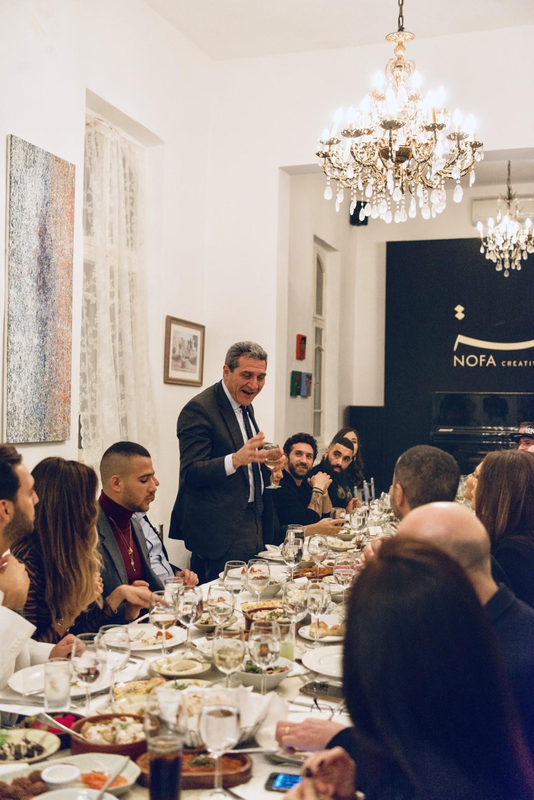 Italian Embassy Dinner