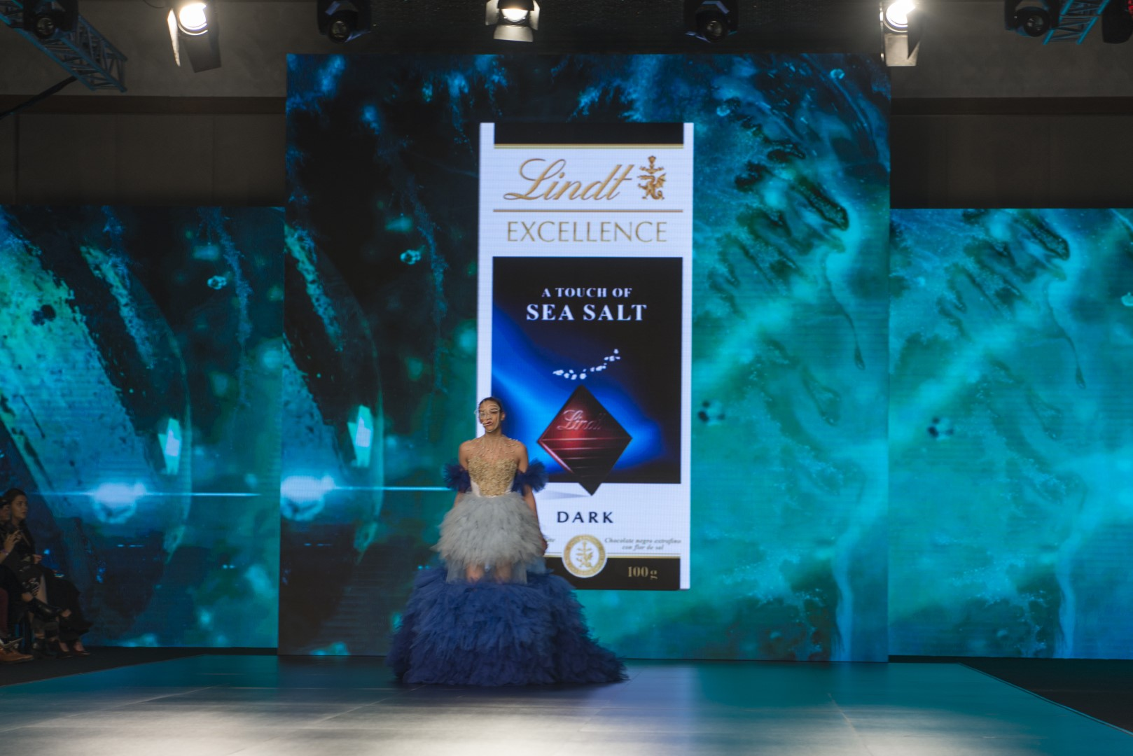 JFW X Lindt Arabia 2019 Chocolate Couture Fashion Show